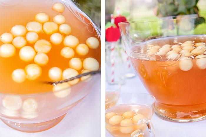 Apfel-Cidre-Bowle passend zu leckerem Apfelkuchen