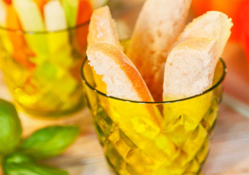 Baguette-Sticks selbstgemacht als Sommer-Snack