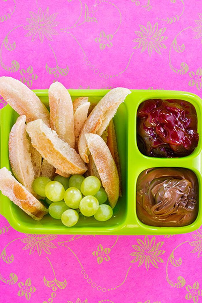 Bento Box: Brotdose mit Fächern für Kindergarten, Schule