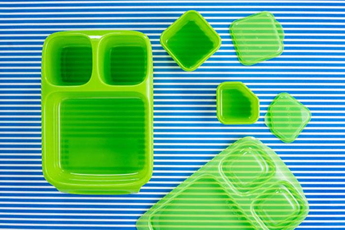 Bento Box individuell mit Kuchen oder Brötchen befüllbar