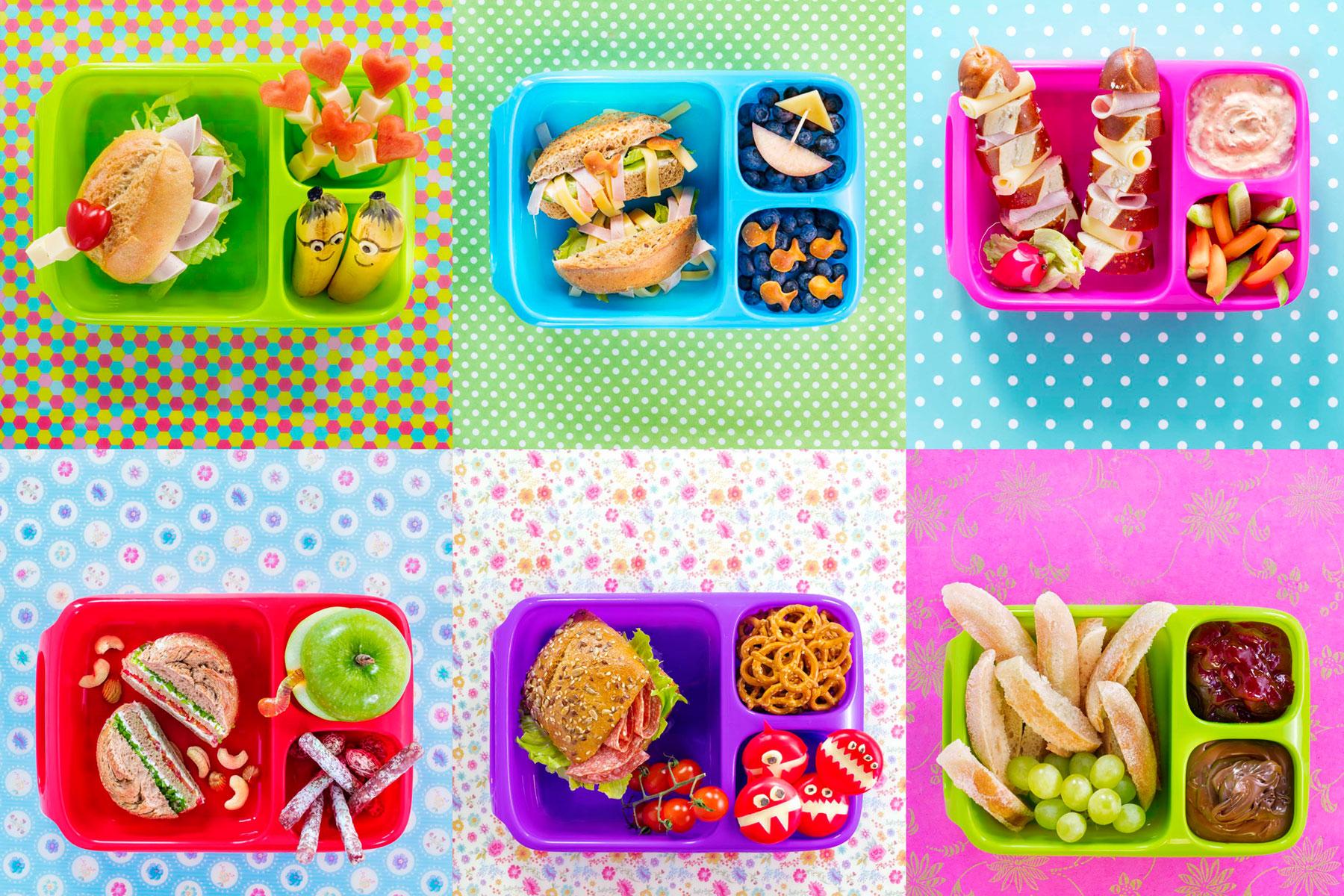 Bento Boxen Rezepte und Ideen für gefüllte Brotdosen