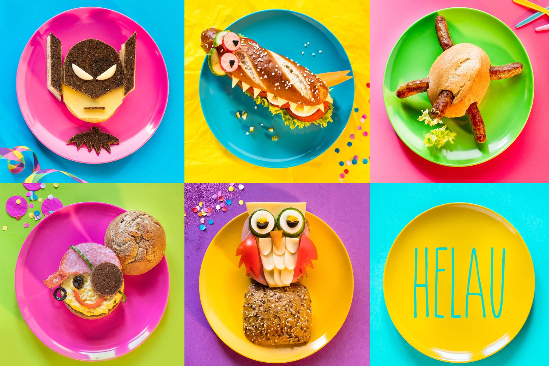Brötchen zu Karneval Rezept und Ideen für Dekorationen