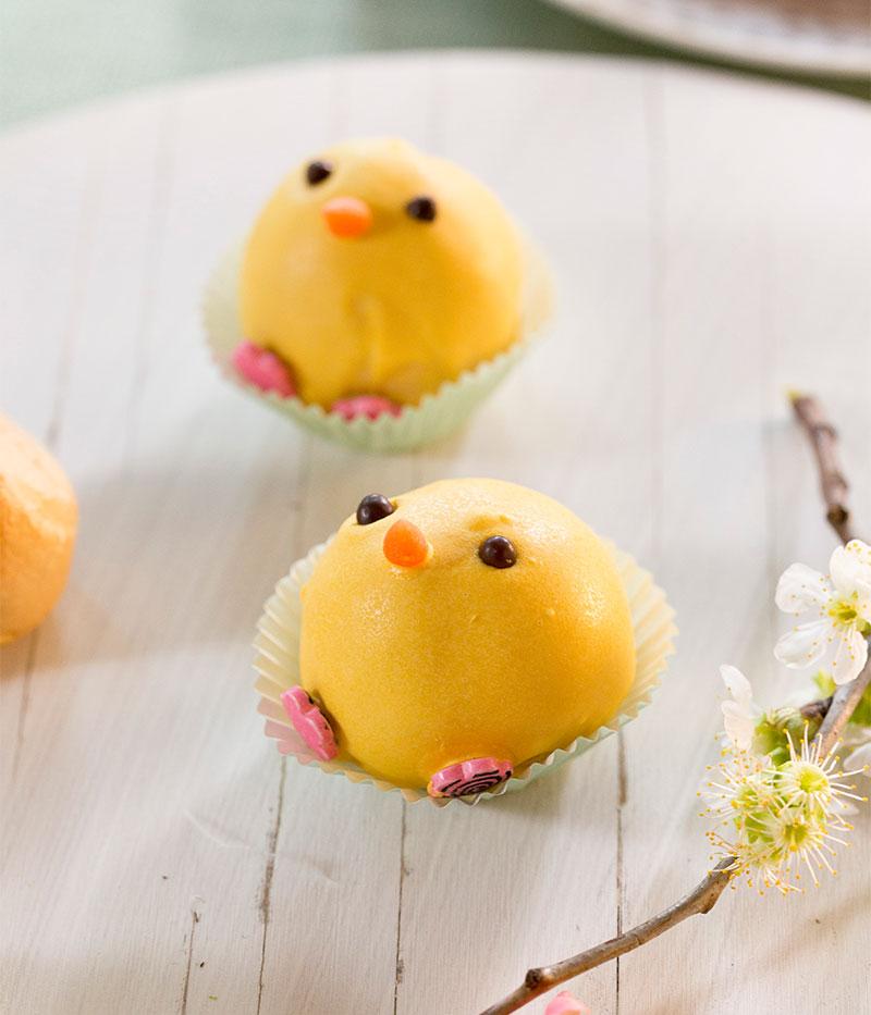 Cake Pop Küken als Kuchen für Ostern selbstgemacht
