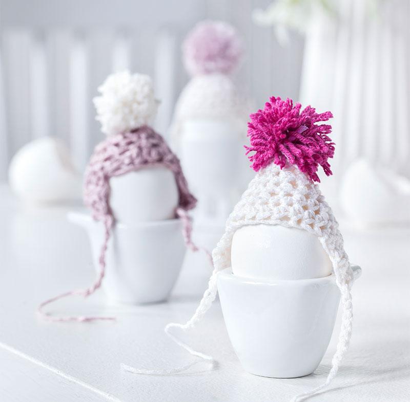 Deko Eierwärmer passend zu Torte und Kuchen für Ostern