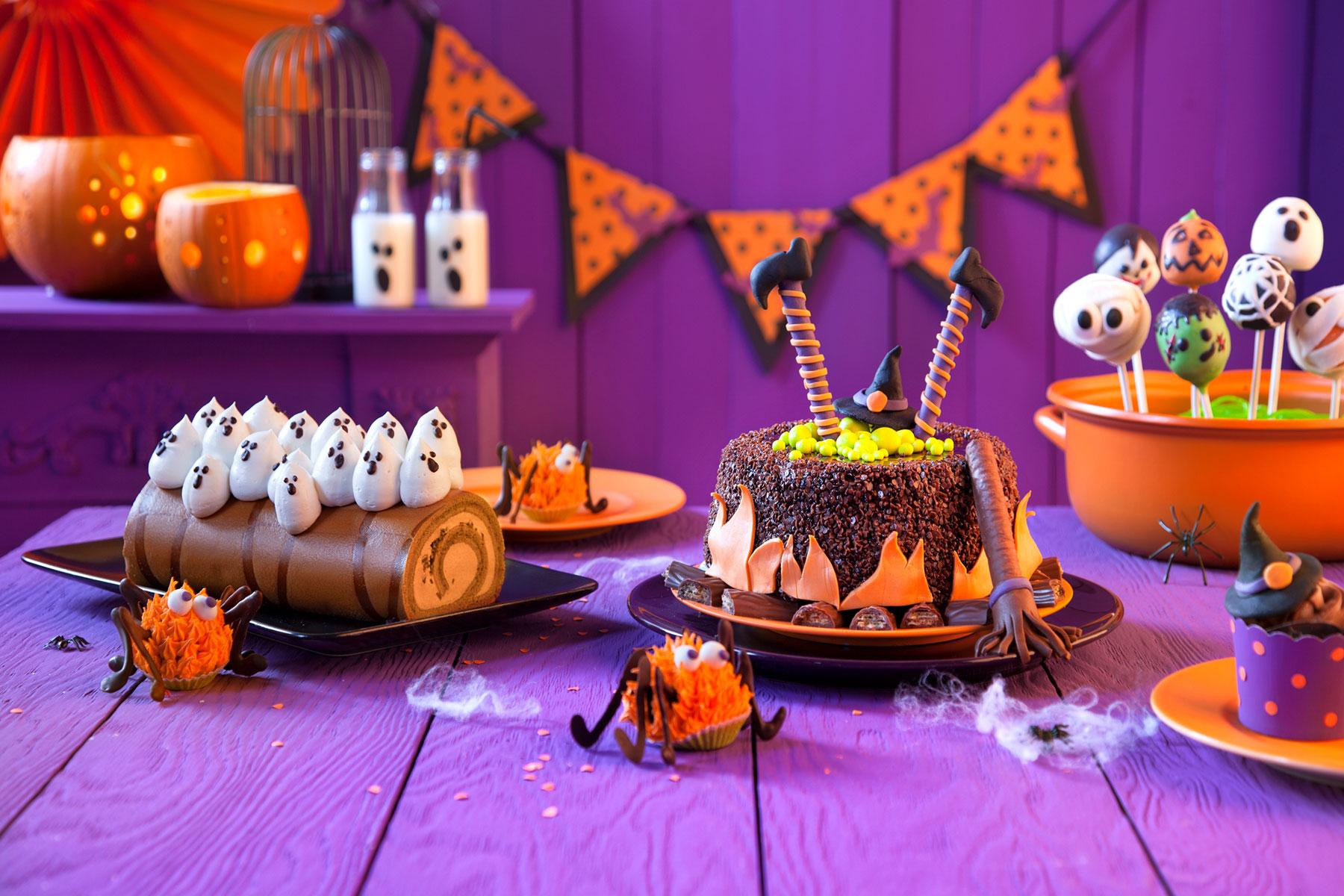 Halloween Cupcakes Hexentorte Schnelles Halloween Geback