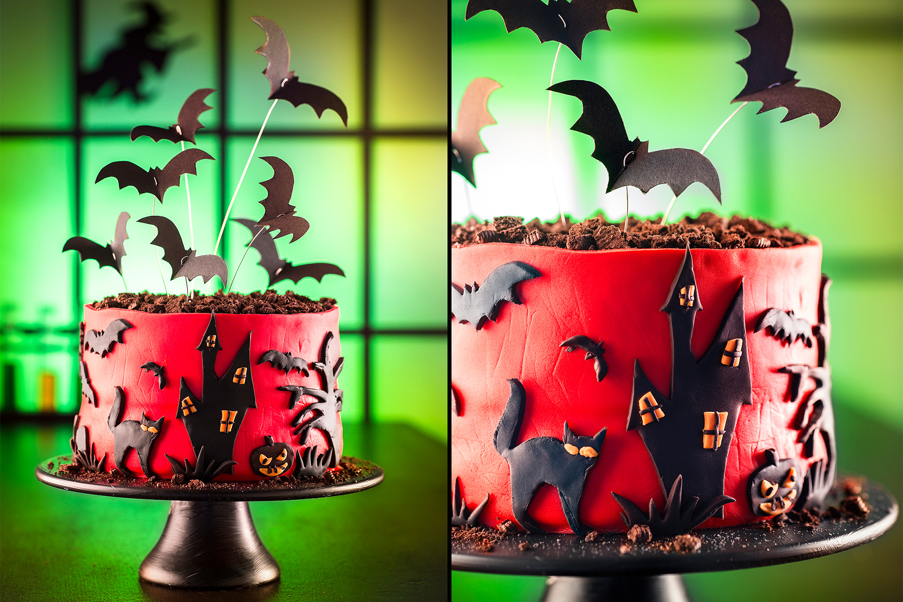 Halloween Torte Rezept Für Deko Mit Fondant
