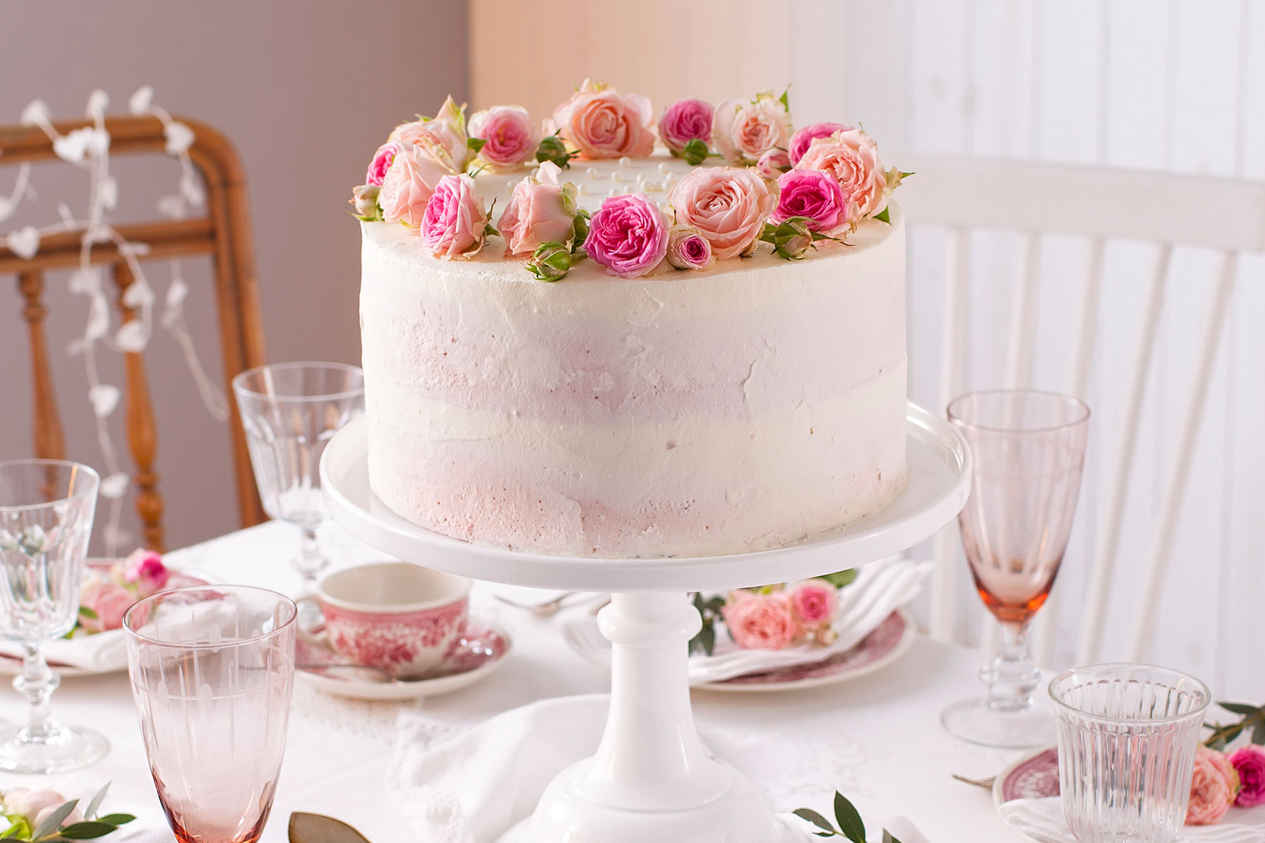 Hochzeitstorte Einfach
