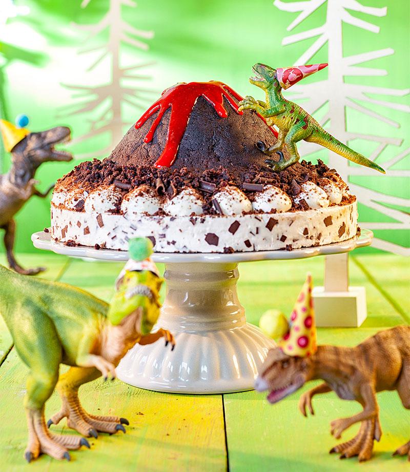 Dino Torte Fur Kindergeburtstag Rezept Zum Selber Machen