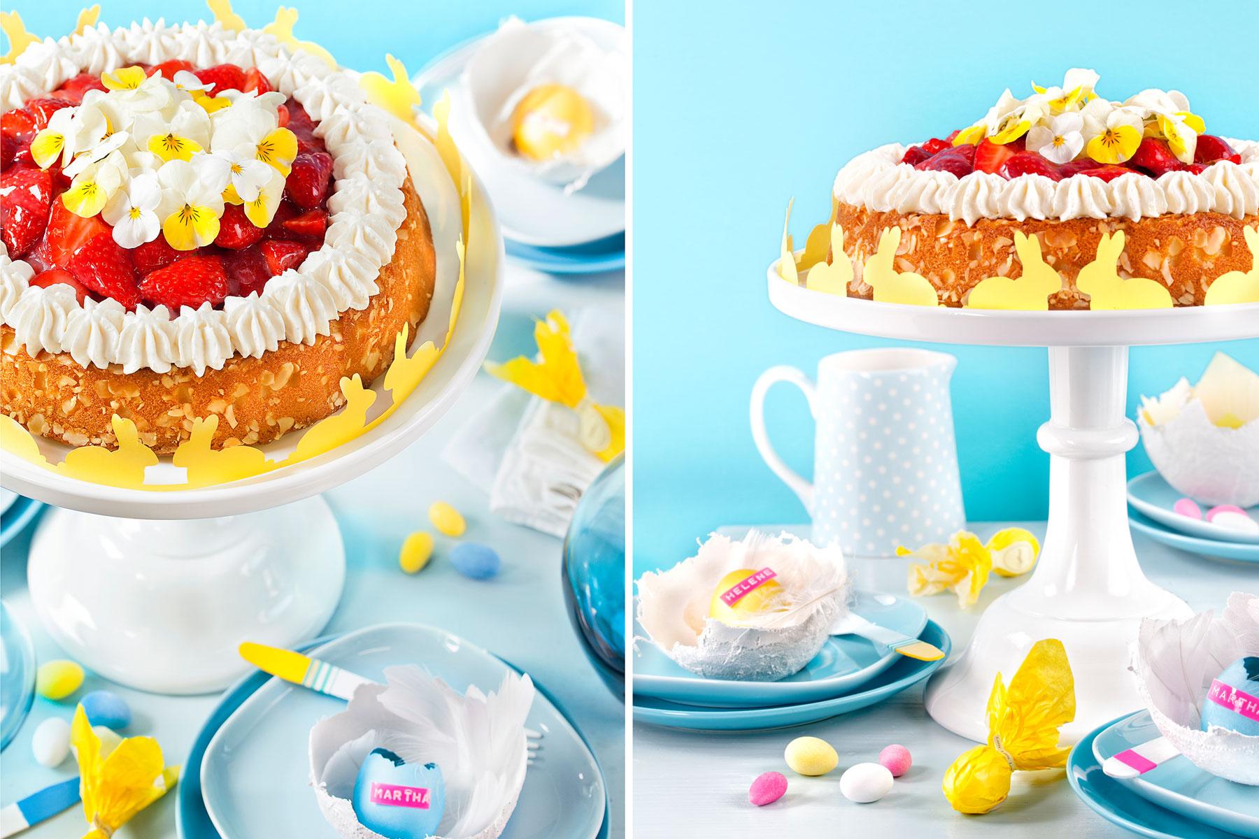 Tolle Ideen zu Ostern! Torte und Deko als farbenfrohe Akzente 2