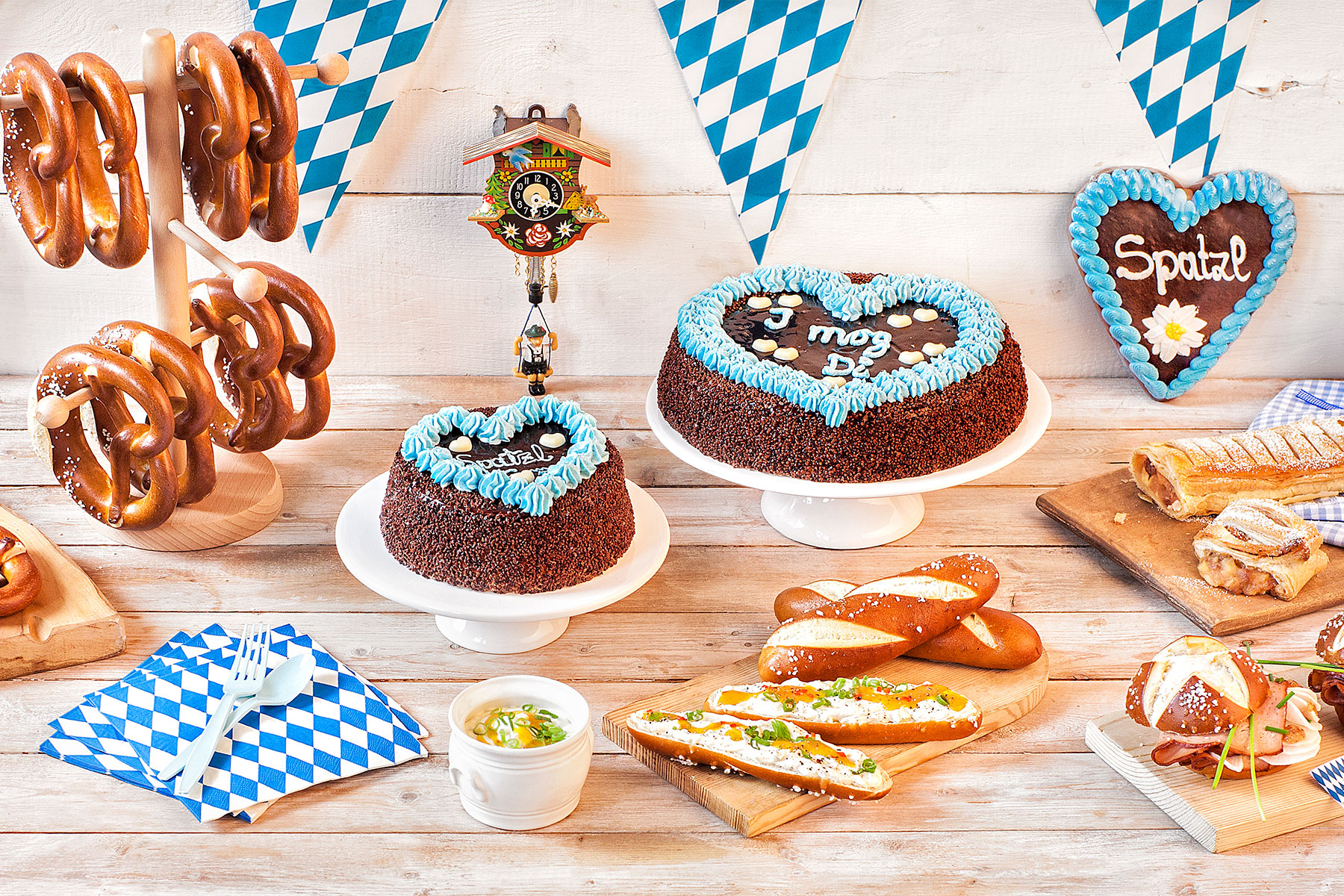 Oktoberfest Party: Mottoparty Okotberfest mit Kuchen & Co »