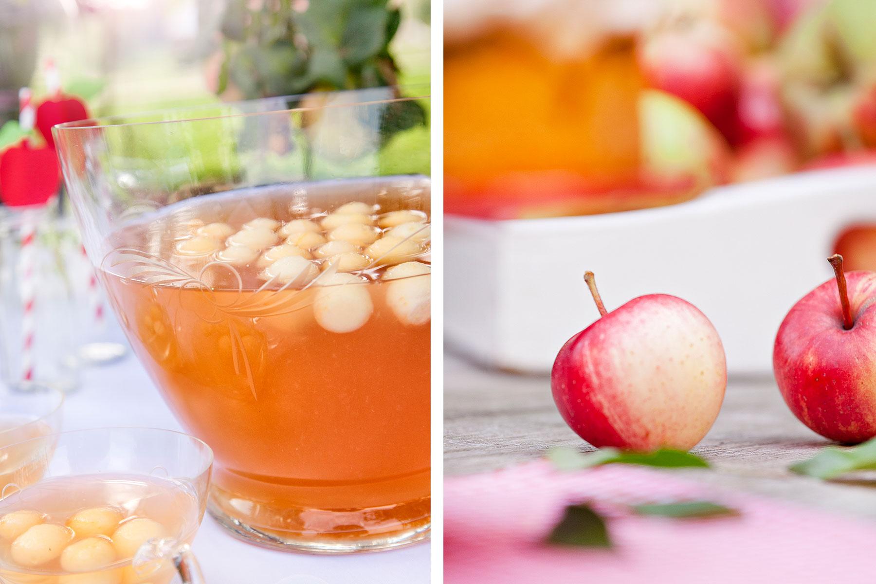 Rezept für Apfelkuchen und Ideen für leckere Apfelbowle