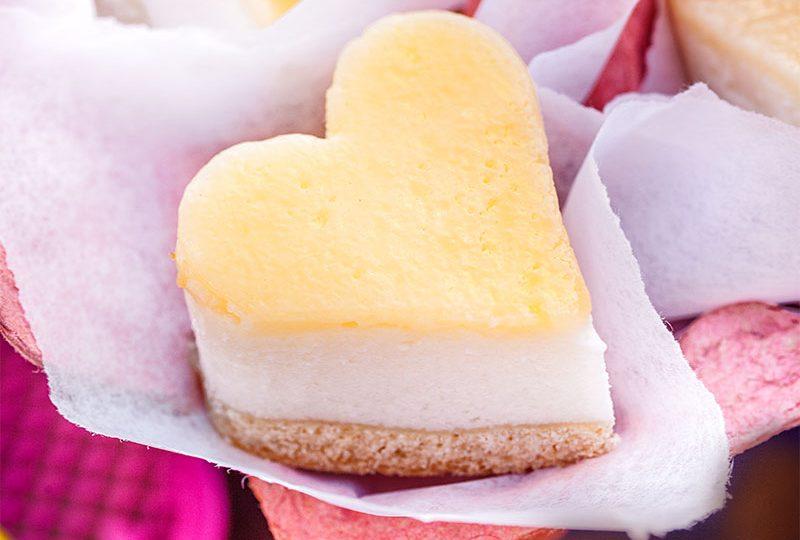 Valentinstag Kuchen Herzen Rezept zum Selbermachen