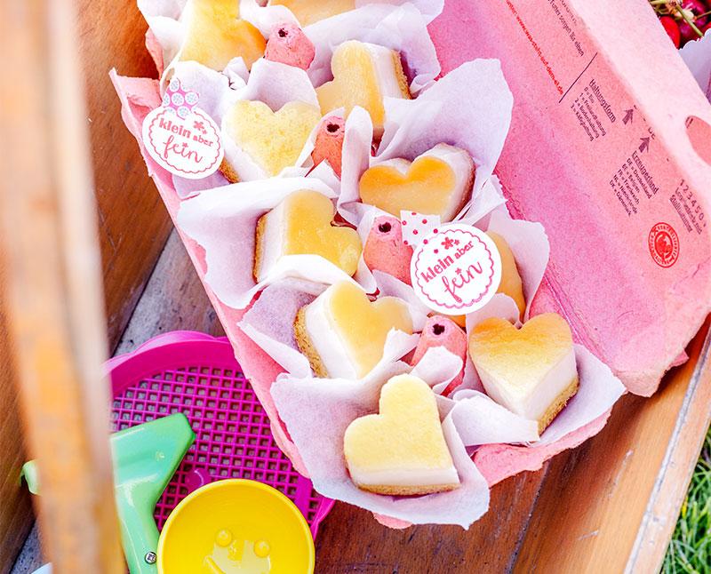 Valentinstag Kuchen als Herzen einfach selbst gemacht