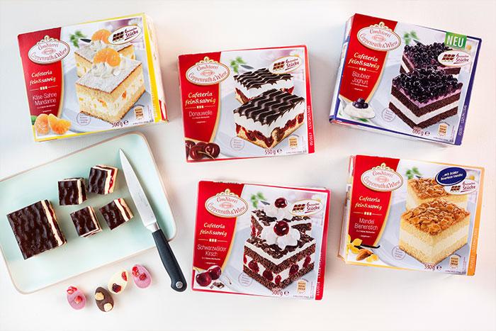 Zutaten für Kuchen zu Ostern plus individuelle Dekoration