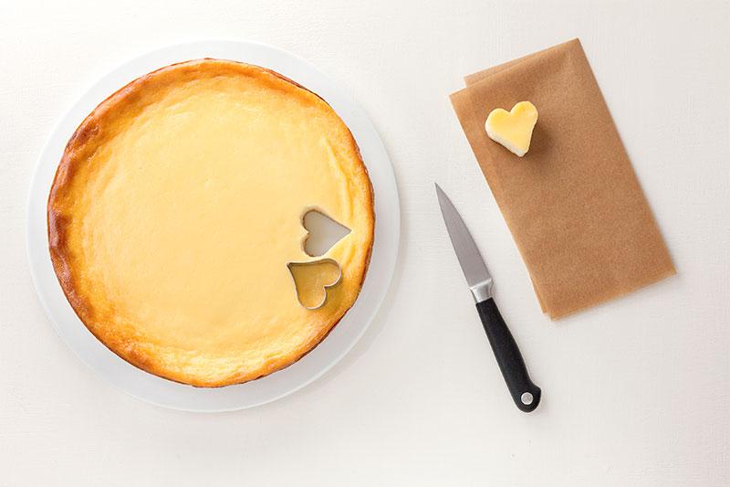 Zutaten Kuchen zum Valentinstag Herzen selber ausstechen