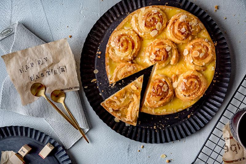 Perfekt zu Ostern: Marzipankuchen mit salted-caramel 1