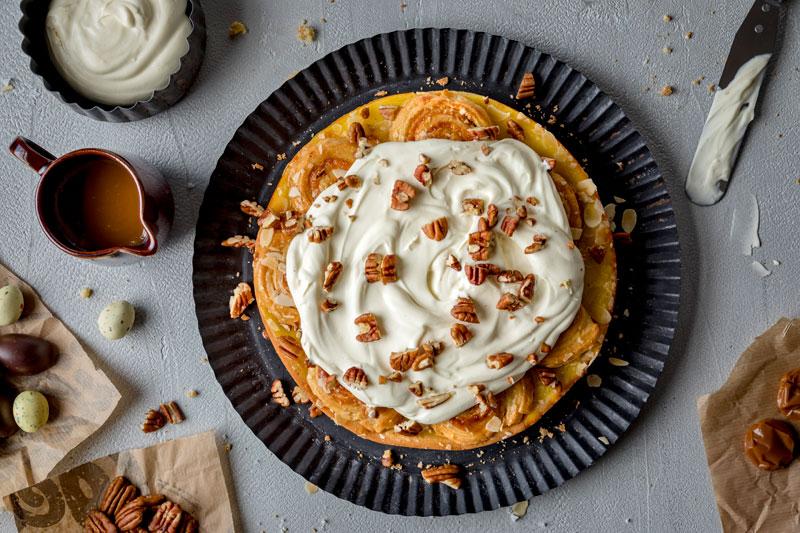 Perfekt zu Ostern: Marzipankuchen mit salted-caramel 4