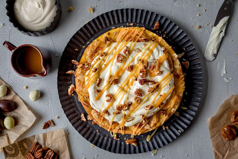 Perfekt zu Ostern: Marzipankuchen mit salted-caramel 5