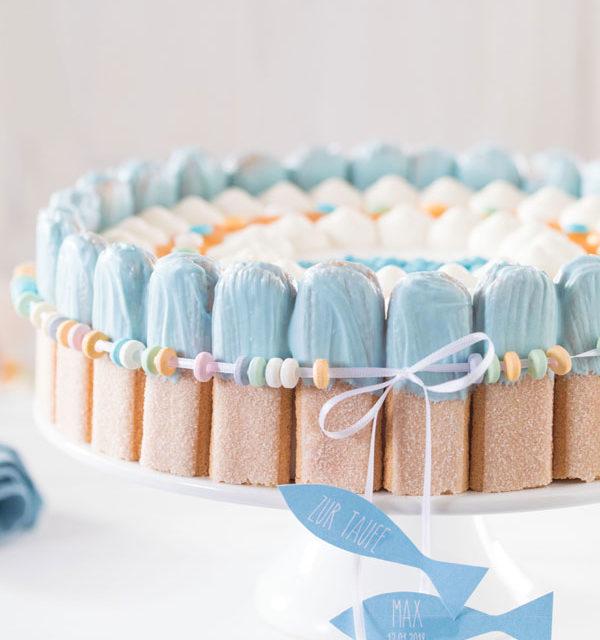Tauftorte Selber Verzieren Einfache Anleitung Für Torte