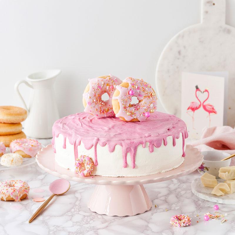 Donuts an Hochzeitstorte 8