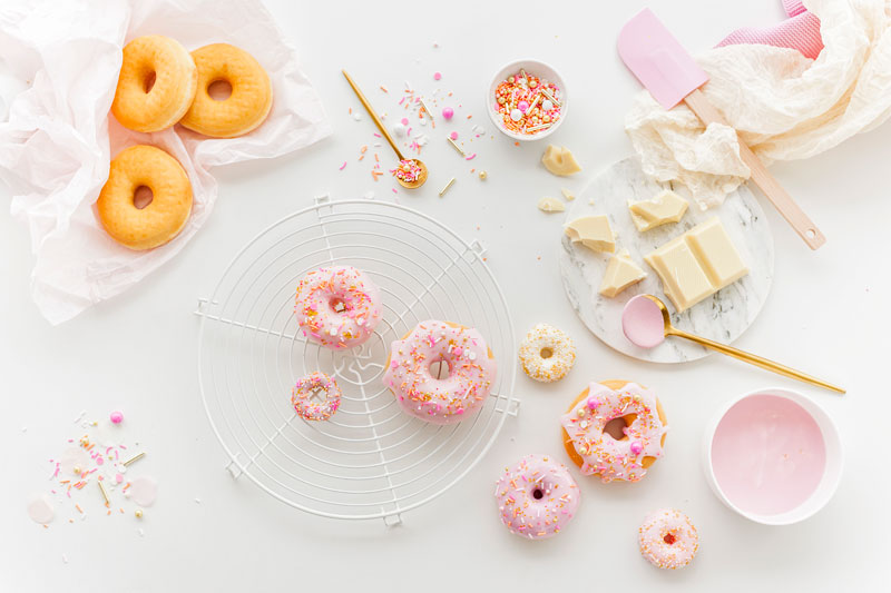 Donuts An Hochzeitstorte Selber Verzieren Schnelle Anleitung