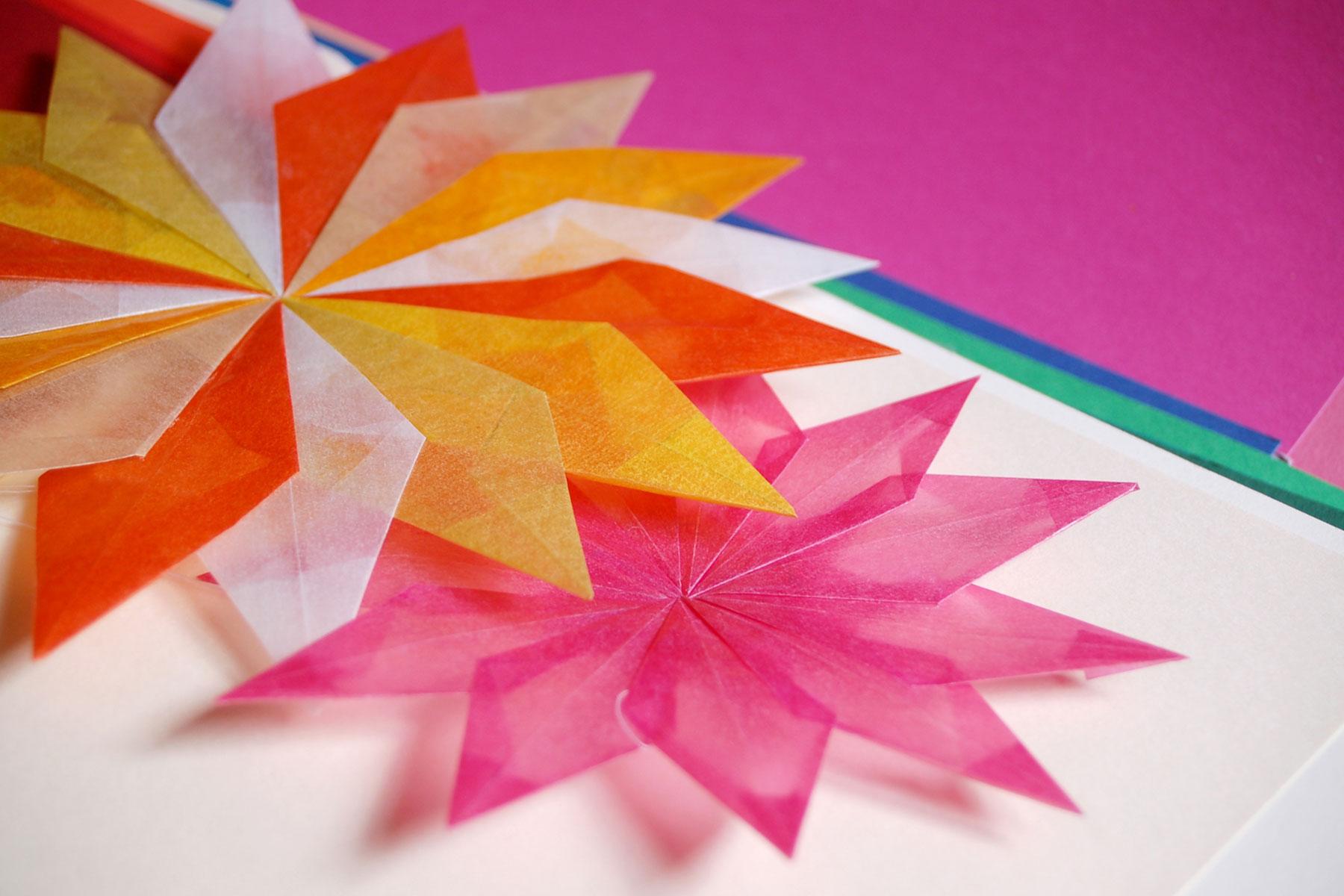 Weihnachtsstern Deko Papierstern Basteln Für Weihnachten