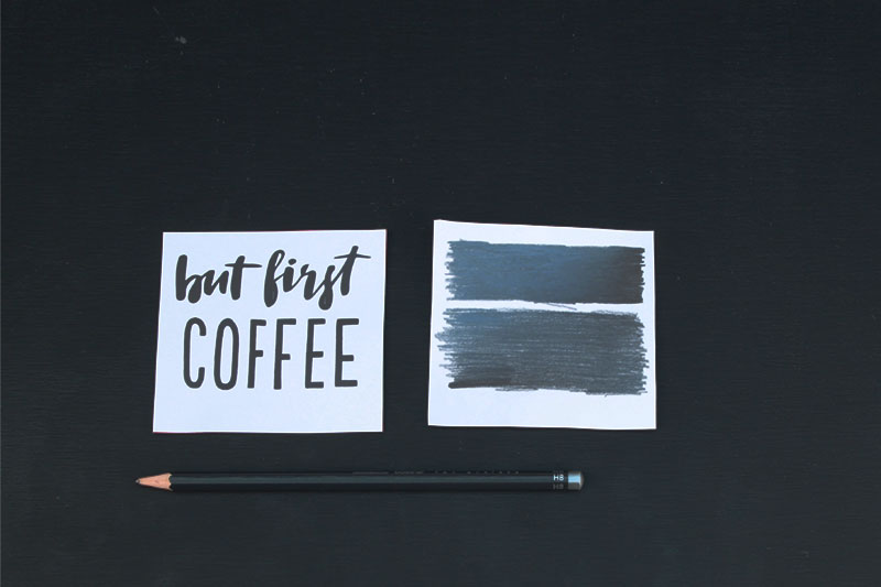 Anleitung zum Tasse selber beschriften und dekorieren