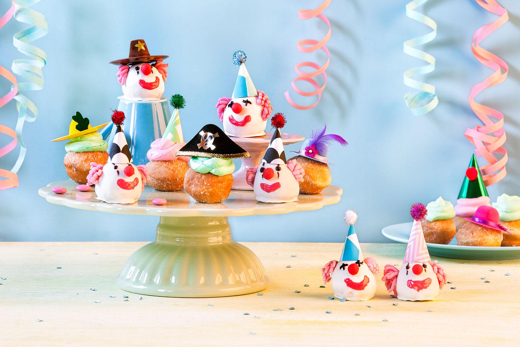 Fun Food zu Karneval – kostümierte Brötchen als Partysnack 1