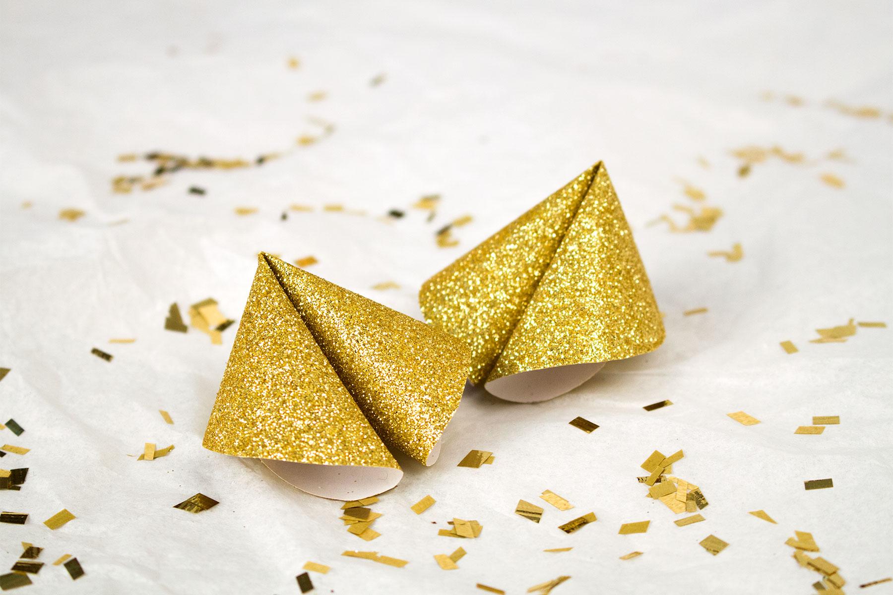 Glückskekse Zum Basteln Glückskekse Sprüche Für Silvester