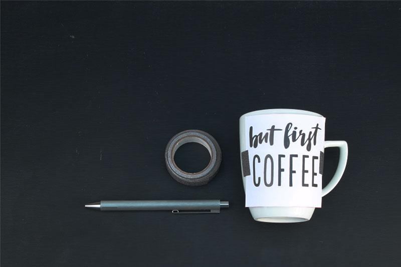 Tasse bemalen Anleitung und Motive zum selber machen und dekorieren