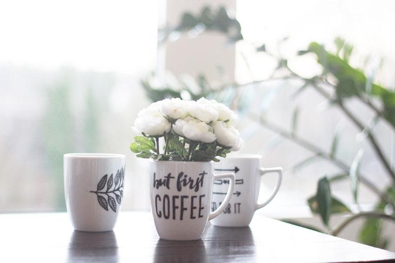 Tassen Bemalen Kaffeetasse Co Selbst Gestalten Beschriften