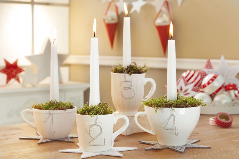 Tischdeko zu weihnachten weihnachtstischdeko zum for Tischdeko advent