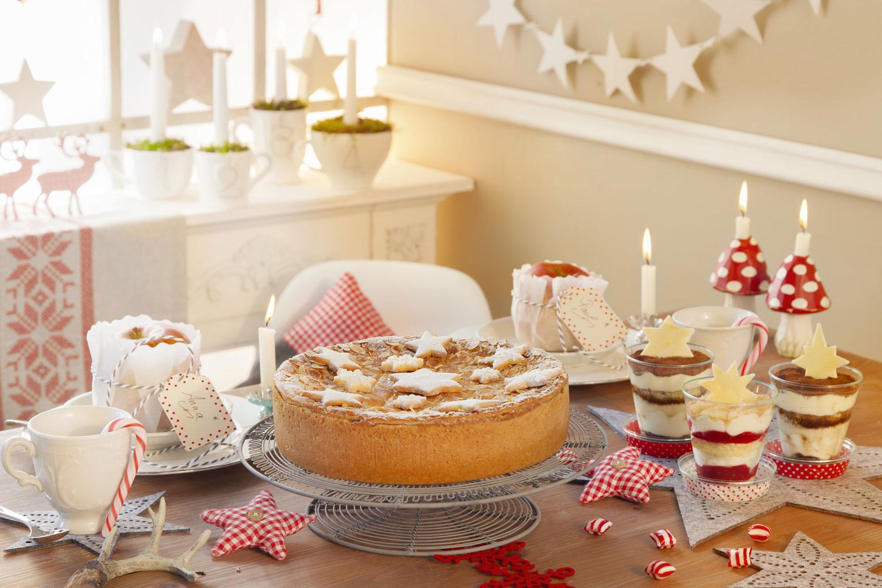 Tischdeko Advent und Kuchen Rezepte und Inspirationen zum selber machen und verzieren