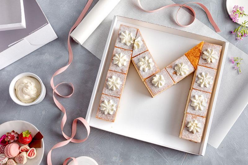 Lettercake – einfach, hübsch und voll im Trend! 2