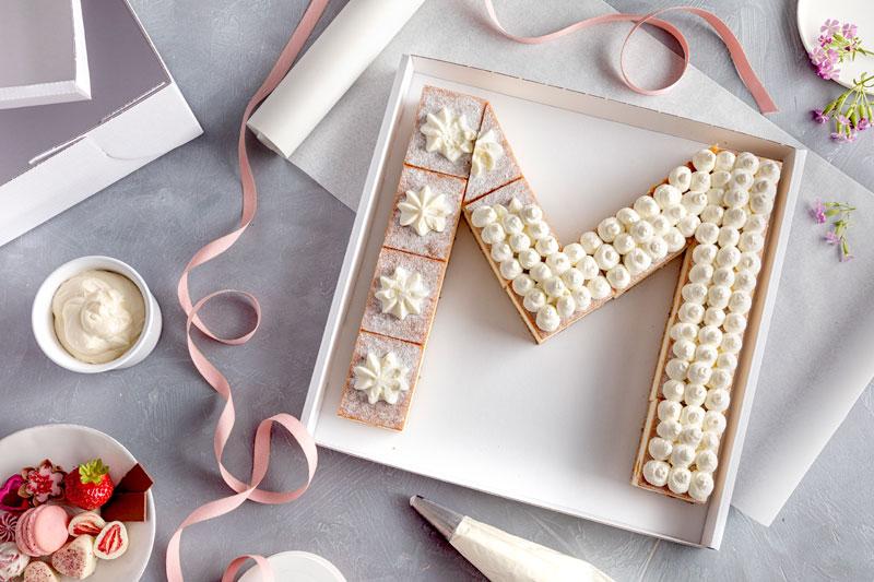 Lettercake – einfach, hübsch und voll im Trend! 3