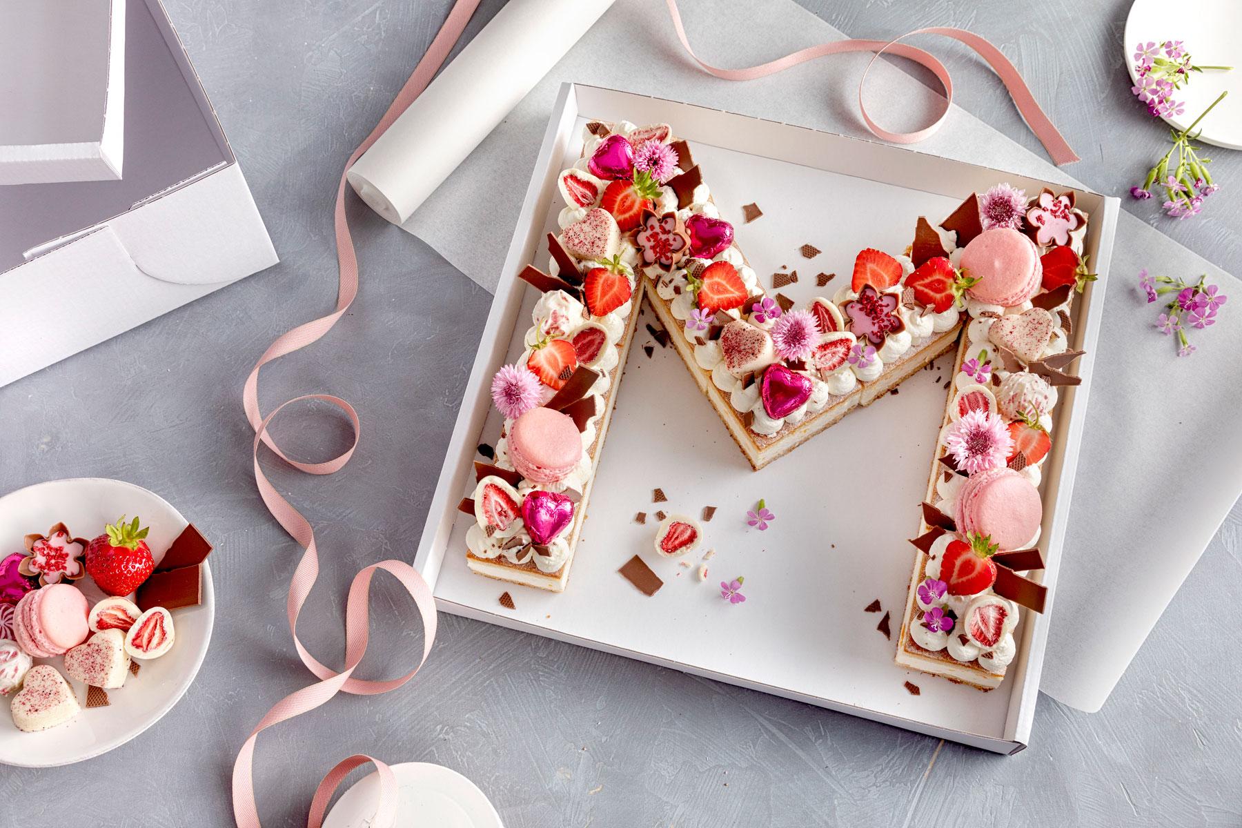 Lettercake – einfach, hübsch und voll im Trend!