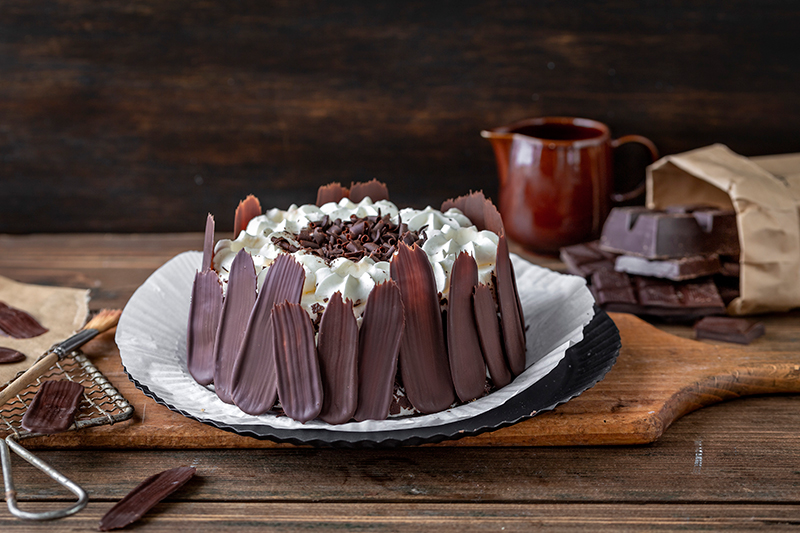 Bunt oder dunkel? Brush Stroke Cake mal anders! 15