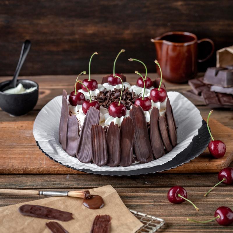Bunt oder dunkel? Brush Stroke Cake mal anders! 1