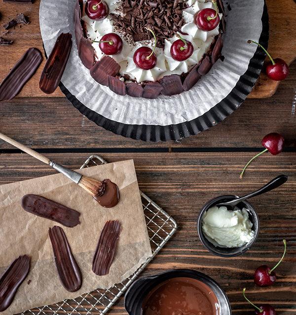 Bunt oder dunkel? Brush Stroke Cake mal anders! 4