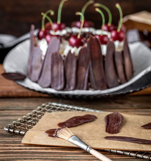 Bunt oder dunkel? Brush Stroke Cake mal anders! 5