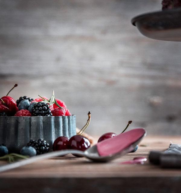 Eiswaffel-Torte mit Beeren - ein echter Augenschmaus 8