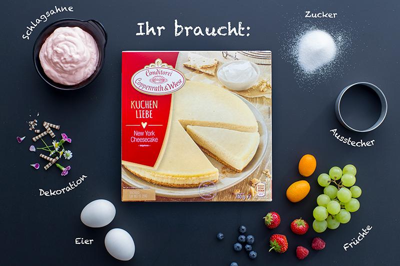 Genial einfach: Mini-Cheesecakes! 1