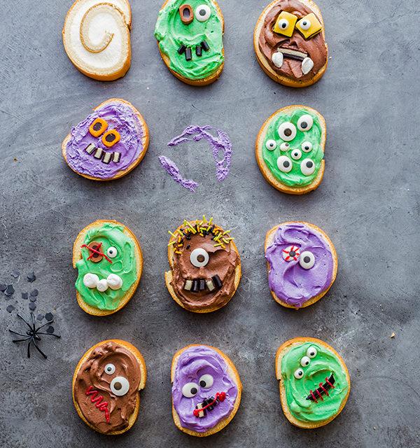 Monstermäßiges Dessert für das Halloween-Buffet 11