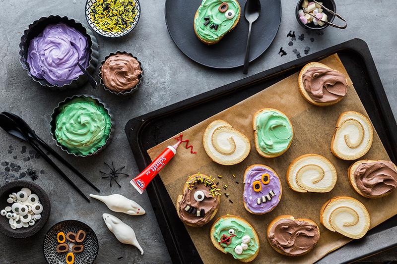 Monstermäßiges Dessert für das Halloween-Buffet 15