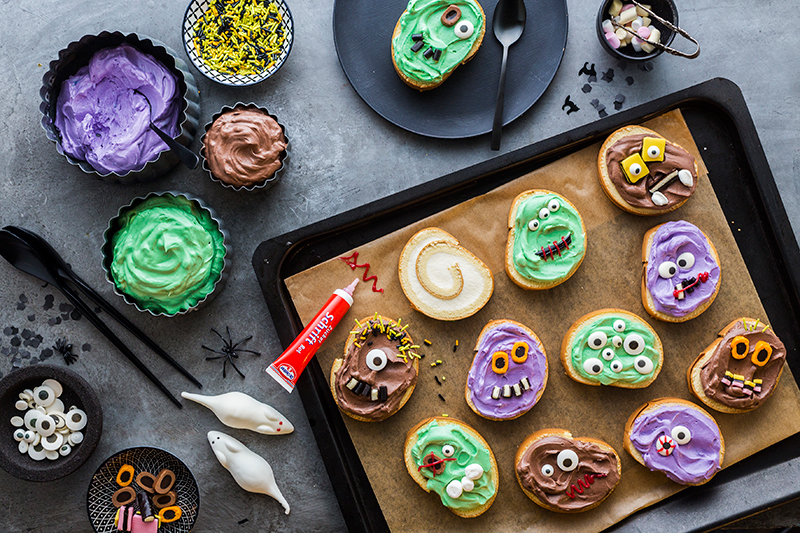 Monstermäßiges Dessert für das Halloween-Buffet 16