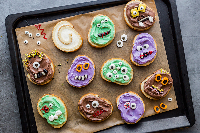 Monstermäßiges Dessert für das Halloween-Buffet 17