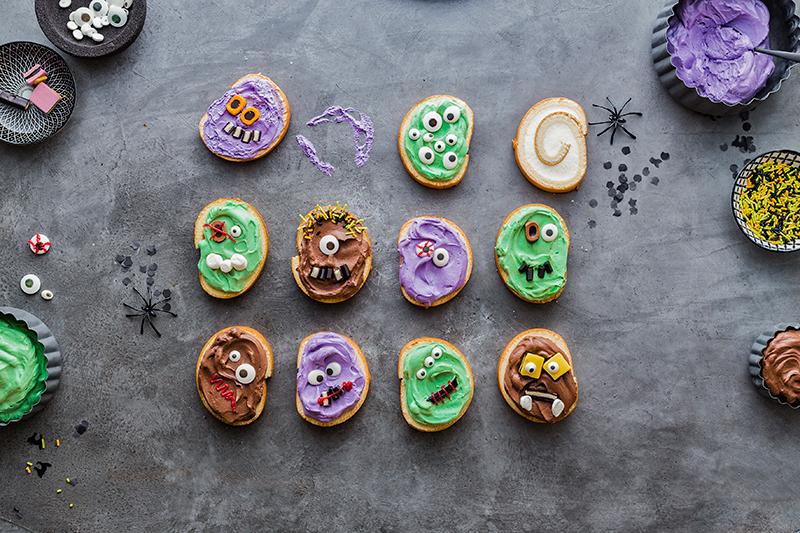 Monstermäßiges Dessert für das Halloween-Buffet 18