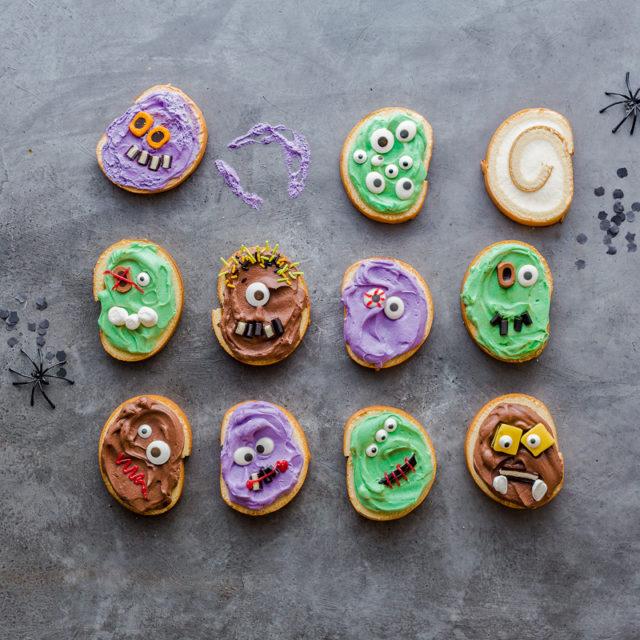 Monstermäßiges Dessert für das Halloween-Buffet 1