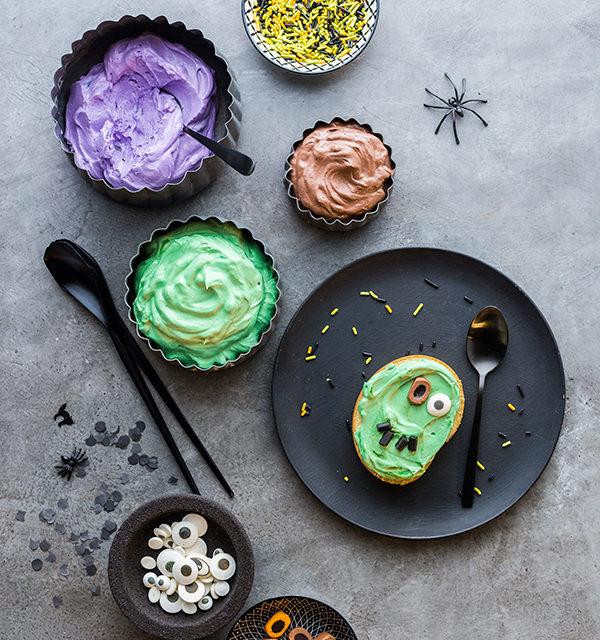 Monstermäßiges Dessert für das Halloween-Buffet 2
