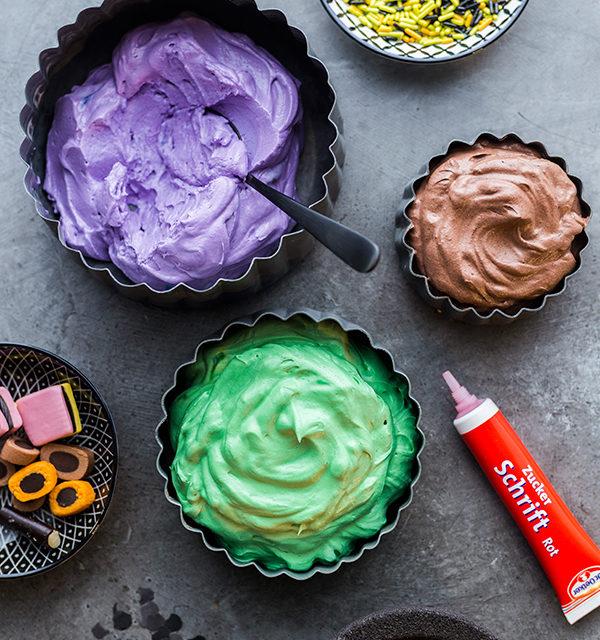 Monstermäßiges Dessert für das Halloween-Buffet 3